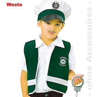 Politi officer politi kids kostume politiet vest vest barn kostume