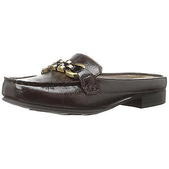 LifeStride Womens Sansa Fabric Closed Toe Casual Slide Sandals