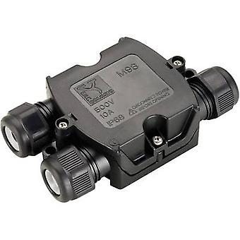 SLV 228726 aansluitdoos zwart