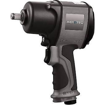 Aerotec CSP 1200 2010197 Pneumatic impact driver Tool holder: 1/2 (12.5 mm) male square Torque (max.): 1200 Nm
