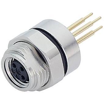 Binder 09-3390-80-04 Sensor / Aktor Steckverbinder M8, Schraubverschluss, gerade