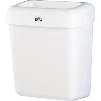 TORK System B2 226100 Søppelbøtte 20 l Plast (B x H x D) 322 x 430 x 205 mm Hvit 1 stk (r)