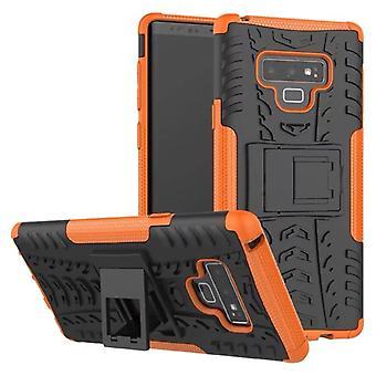 Samsung Galaxy trykk 9 N960 N960F hybrid tilfelle 2 stykke Koczian utendørs oransje bag coveret beskyttelse