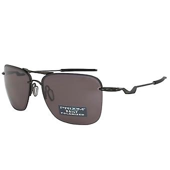 Oakley Tailhook Square Sunglasses 0OO4087 408705 60 POL   Carbon Frames   Polarized Prizm Daily Lenses