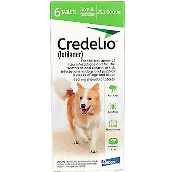 Credelio Green Large Dogs 11-22 kg 6 Pack