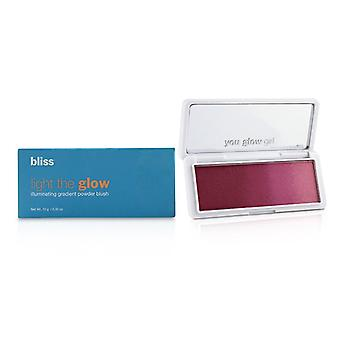 Bliss Light The Glow Illuminating Gradient Powder Blush - # Berry Parfait - 10g/0.35oz