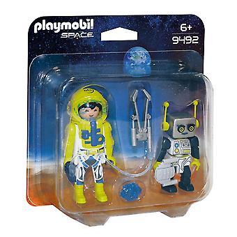 DuoPack Astronaut und Roboter Playmobil (9492)