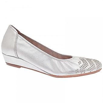 Sabrinas Low Wedge Studded Ballet Pump