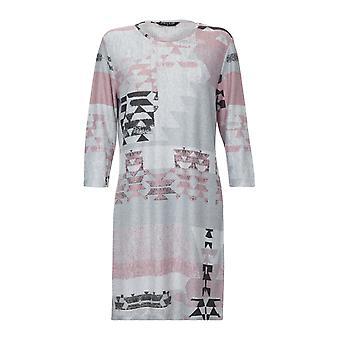 アステカのプリント ドレス