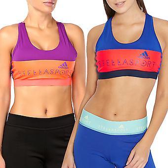 Adidas ytelse kvinners STELLASPORT Climalite Gym avling topp polstret sport-BH