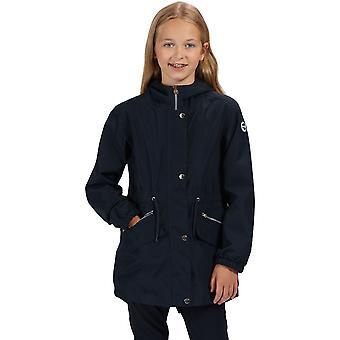 Regata meninas Tamora impermeável respirável casaco com capuz