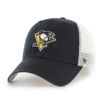 47 Brand Relaxed Cap - CLOSER Pittsburgh Penguins schwarz
