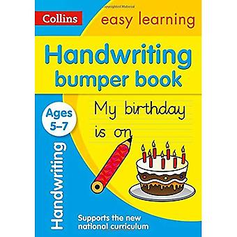 Handskrift stötfångare bok åldrar 5-7 (Collins lätt lärande KS1)