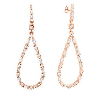 Bertha Juliet Collection Women's 18k RG Plated Fashion Earring