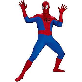 Klassieke Spiderman volwassen Plus grootte kostuum