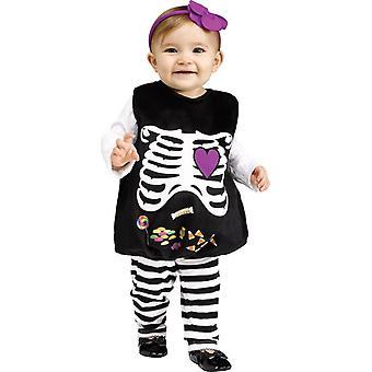 Skeleton Halloween Infant Costume