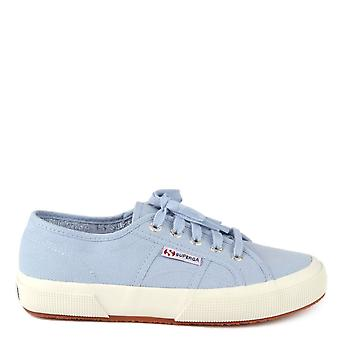 Superga 2750 Cotu Classic Azure Erica Canvas Trainer