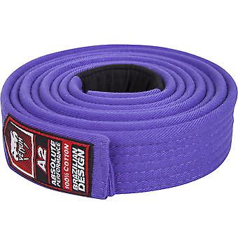 Venum adulto Unisex BJJ Jiu Jitsu Gi Belt - púrpura - mma