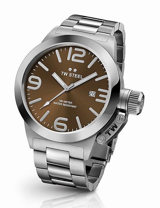 TW Steel Canteen Cb21 Bracelet mens watch 45 mm