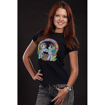 Women's My Little Pony Best Friends Black T-Shirt