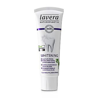Lavera pasta de dentes (branqueamento)-com bambu celulose partículas de limpeza & amp; Fluoreto de sódio-75ml/2.5 oz