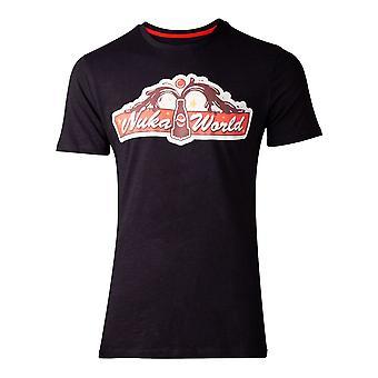 Difuzed Fallout Fallout 76 Nuka World Mens T-Shirt Medium Black (TS816206FAL-M)