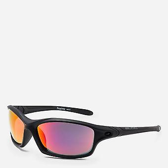 Neue Bloc Daytona XMR60 Sonnenbrille Karbon8 XR60 Red Mirror cat.3 Linsen Schwarz