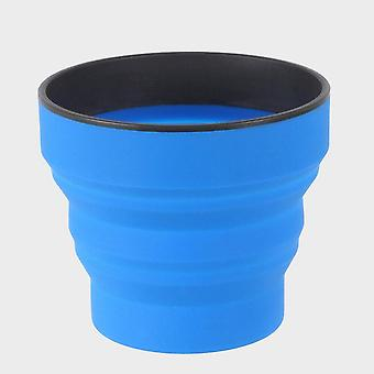 New Lifeventure Ellipse Collapsible Cup Blue