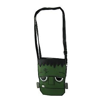 Sleepyville beestjes vriendelijke Frankenstein gezicht Crossbody portemonnee