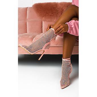 IKRUSH naisten Riri verkko sukat perspex Court korko kengät