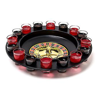 30 Cm Roulette - Roulette Drinking Game Including 16 Glasses Shot Drinking Party - Hen Stag Adult Game Fun Party Casino