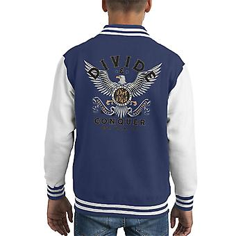 Divide & Conquer Outfitters Eagle Kid's Varsity Jacket