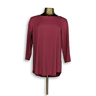 Joan Rivers Classics Collection Women's Top Cold Shoulder Pink A299415