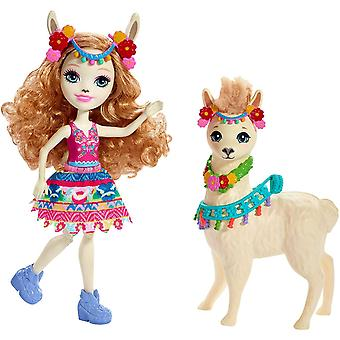 Enchantimals Lluella Llama Doll and Fleecy Figure