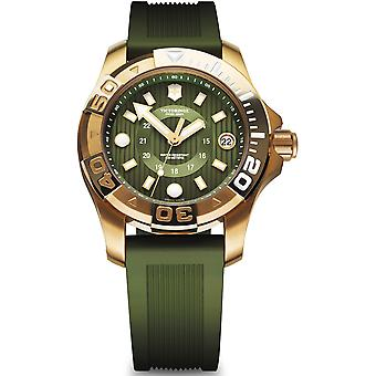 Victorinox dive master 500 Quartz Analog Woman Watch with V241557 Rubber Bracelet