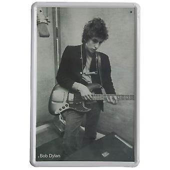 Wellindal Printed Metal Box Vintage Bob Dylan 20X30- Hcn344-87
