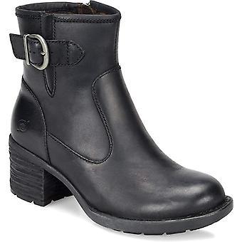 B.O.C Womens Gunn Suede Almond Toe Ankle Fashion Boots
