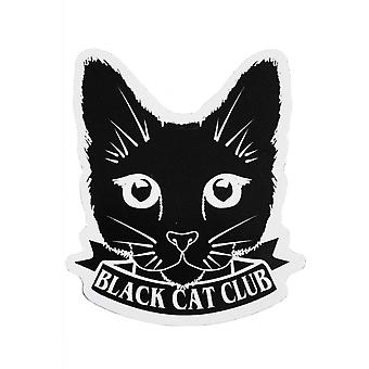 Extreme Largeness Black Cat Club Vinyl Sticker