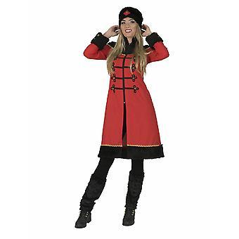 Ryska Moskva kvinna kvinnors kostym ryska Coat Sibirien kostym kvinno tema part Ryssland