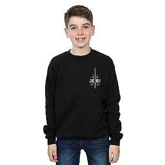 Star Wars The Rise Of Skywalker Jedi Badge Breast Print Boys Sweatshirt