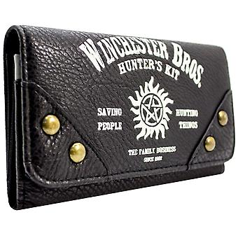 Warner Supernatural Hunters Kit Coin & Card Tri-Fold Purse