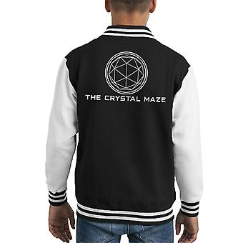 The Crystal Maze Basic Logo Kid's Varsity Jacket