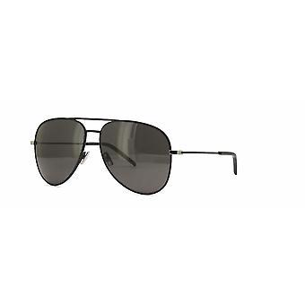 Saint Laurent Classic 11 031 Black/Grey Sunglasses