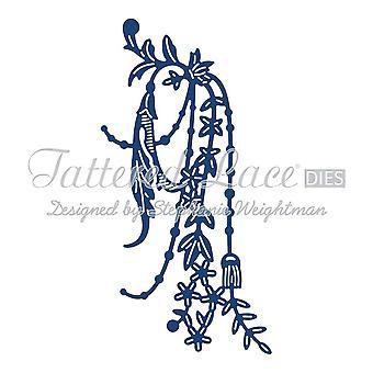 Perle & fleur SWAG: dentelle lambeaux métal Die papier carte stephanie Halleman