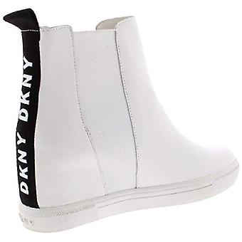 DKNY Womens Coley Leather Logo Shooties