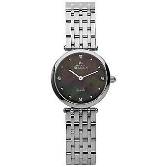 Michel Herbelin 1045-B99 Women's Epsilon Diamond Wristwatch