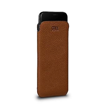 IPhone Xs Cover In True Leather Brown