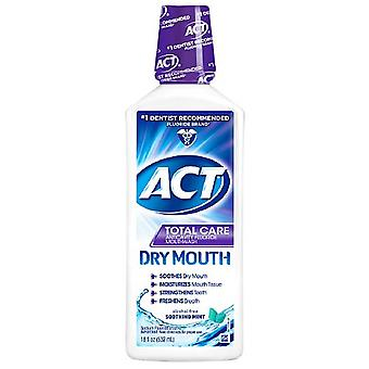 Act total care dry mouth anticavity mouthwash, soothing mint, 18 oz