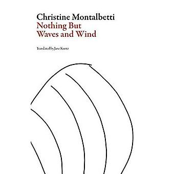 Nothing but Waves and Wind by Christine Montalbetti & Translated by Jane Kuntz