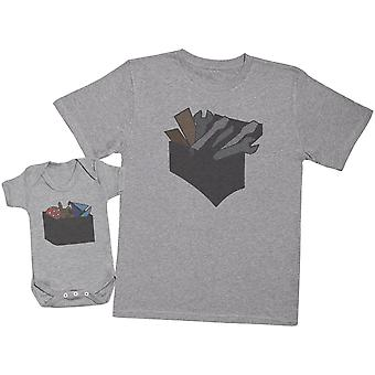 Tool Box And Toy Box - Mens T Shirt & Baby Bodysuit